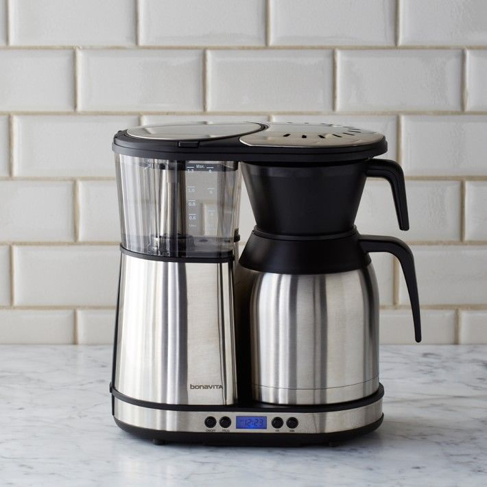 Bonavita 8 Cup Digital Brewer with Stainless Steel Carafe #1: 321f bc db1a028d5e514