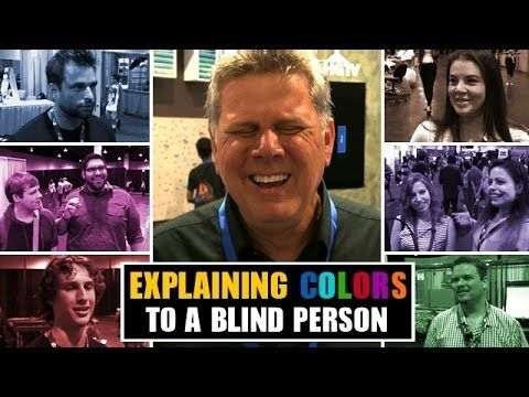 Blind Film Critic Tommy Edison Asks Sighted People to Explain Colorsasks