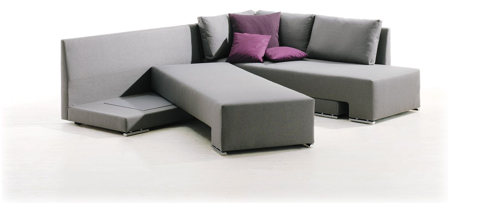 ... Design Schlafsofa Daybed Elegant Kombination. The Vento Sofa Bed By  Thomas Althaus For Die Collection Is A Contemporary Sofa That Transforms