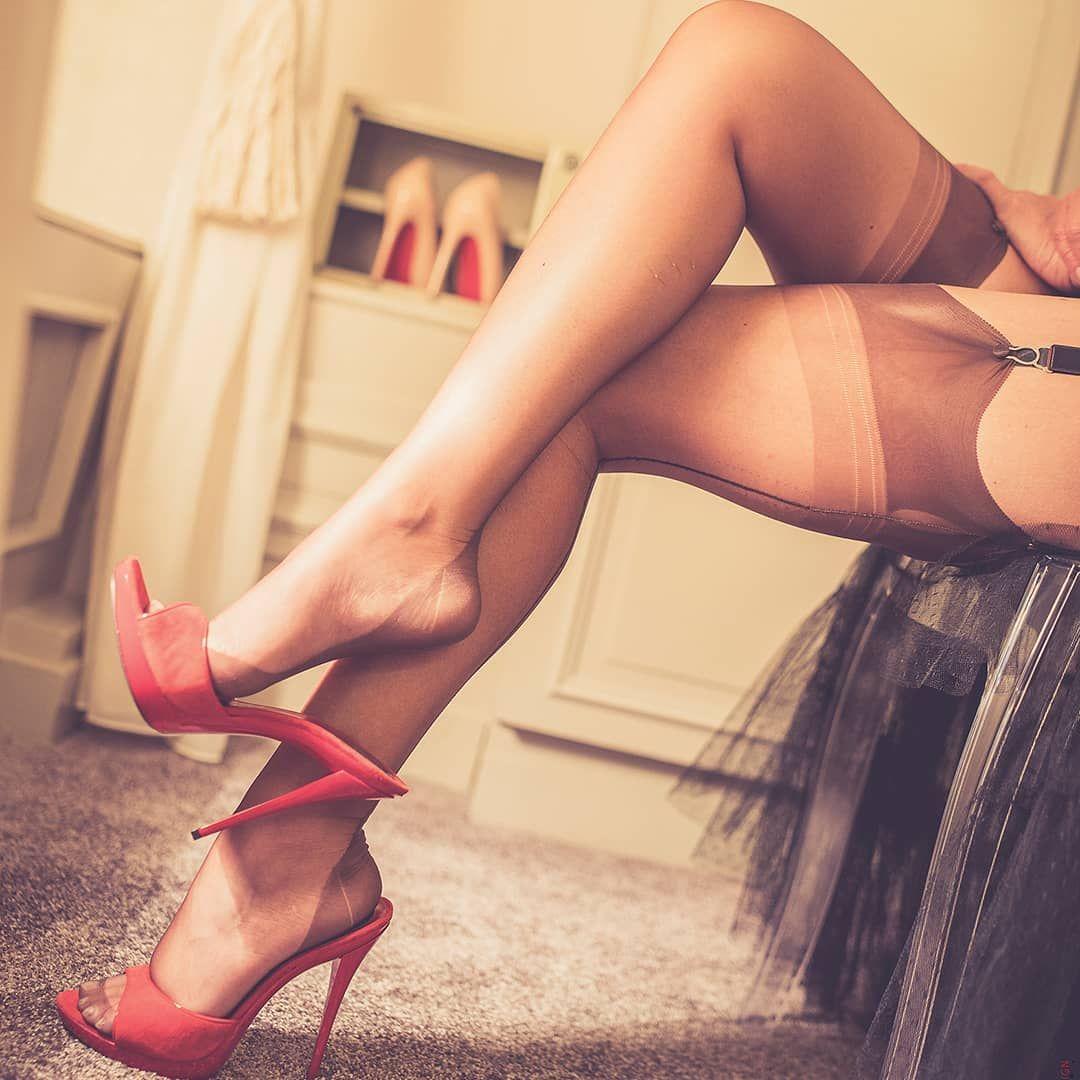 White nylon stockings sexy feet play, footlovers, nylon fetish