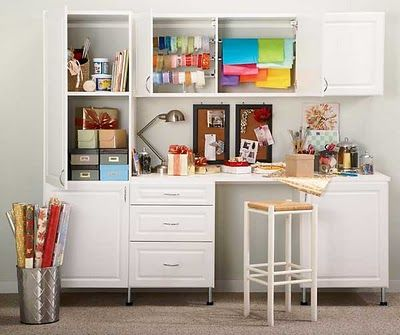 When Life Won T Give You More Than A Few Square Feet Craft Tables With Storage Craft Room Furniture Childrens Craft Table