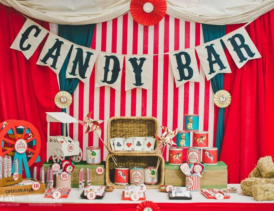 Circus vintage / Birthday \