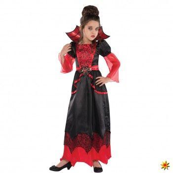Kinderkostum Vampir Queen Deluxe Halloween Kostume Fur Madchen Vampir Kostum Kinder Madchen Kostume