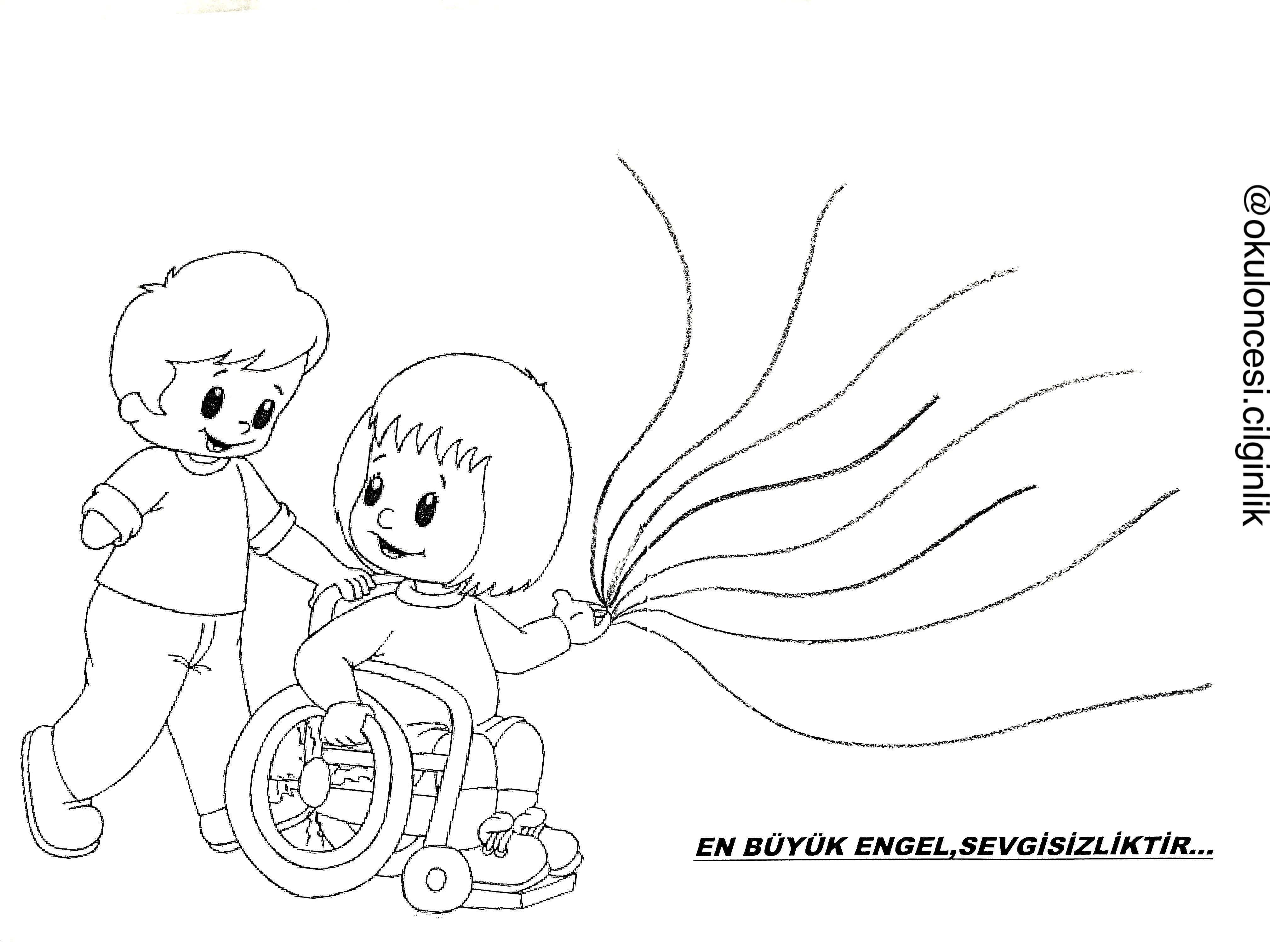 Engelliler Haftası Karışık Belirli Gün Ve Haftalar Pinterest