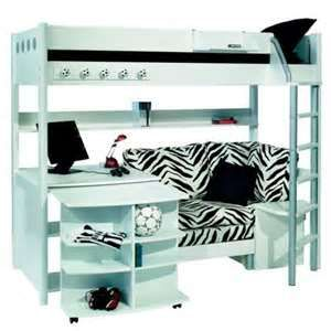 Stompa Combi 1 Bunk Bed With Sofa Bed Desk And Bookshelf Next Day