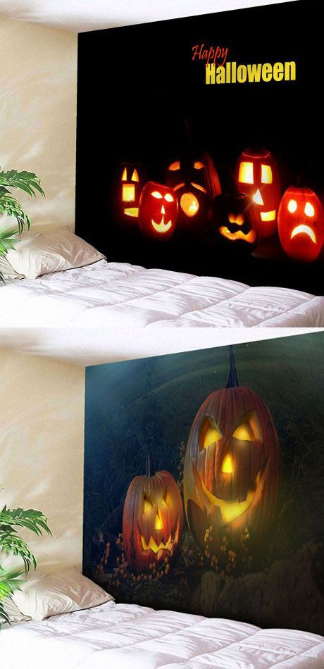 60+ Halloween tapestry Ideas for a Spooky Party Halloween party - halloween party decoration ideas