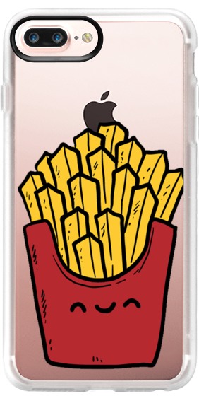 iPhone 7 Case French Fries by Rie Orpano Friends