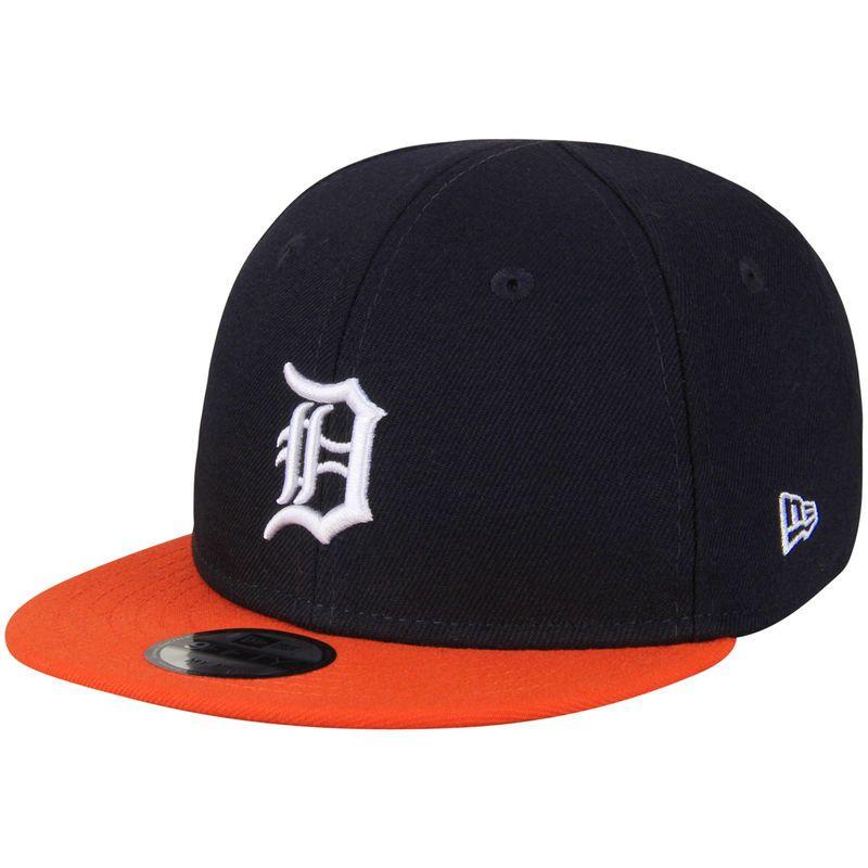 eadf7d8ec95dc Detroit Tigers New Era Infant My First 9FIFTY Snapback Adjustable Hat -  Navy Orange