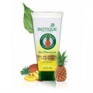 #Biotique #PineApple #Oil_Balance_Face_Wash 100ML