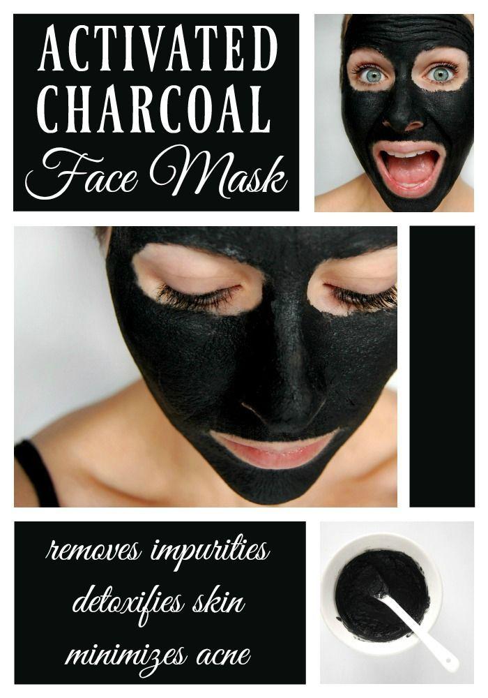 hemmagjord blackhead mask