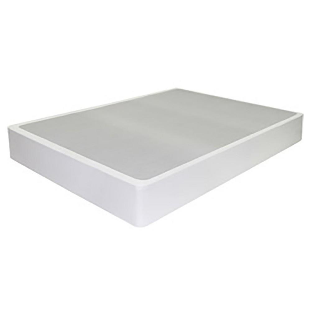 Queen Jayanna Steel Bifold Box Spring Zinus White Mattress Metal Box Full Size Box Spring