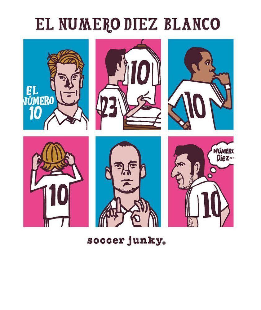 El Numero Diez Blanco Soccer Junky サッカージャンキー
