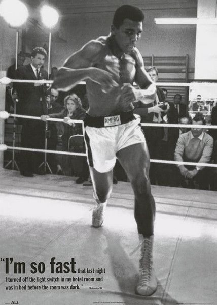 MUHAMMAD ALI CASSIUS CLAY ANDY WARHOL POSTER PRINT mohammed alì pop art new BOXE