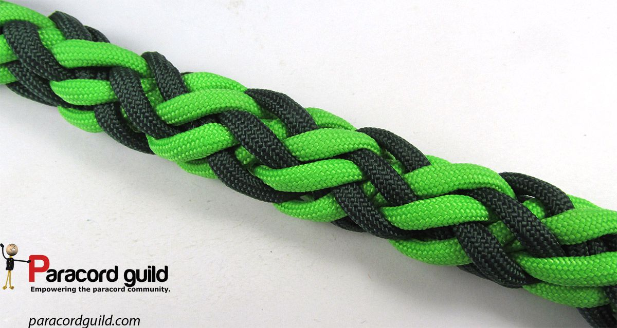 12 Strand Gaucho Braid Tutorial Paracord Knots