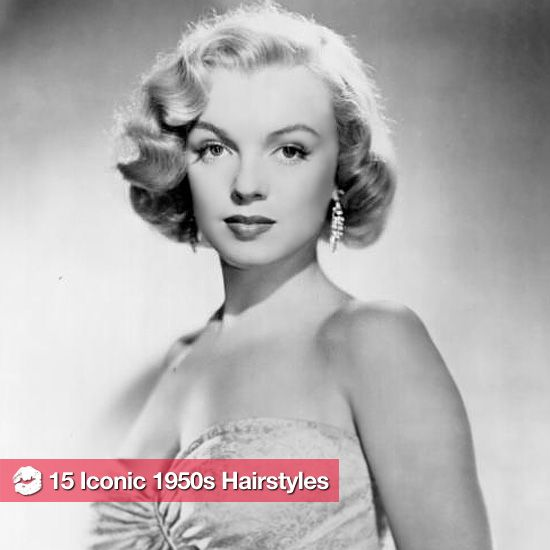 13 Of The 1950s Most Iconic Hairstyles 1950s Hairstyles Vintage Hairstyles 50s Hairstyles