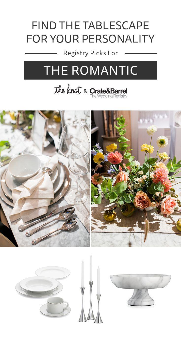 If you're a romantic, you'll love these wedding registry picks from @crateandbarrel! | https://trib.al/6m0NuUm