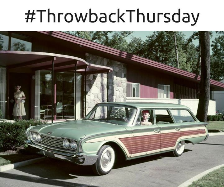 Phil Fitts Ford >> #TBT: 1960 Ford Country Squire | Car ford, Woody wagon