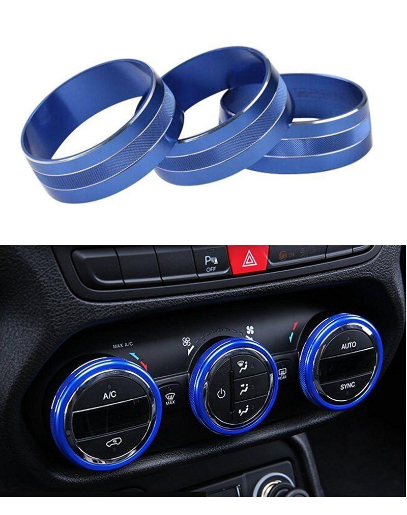 : e-cowlboy interior audio air conditioning button cover
