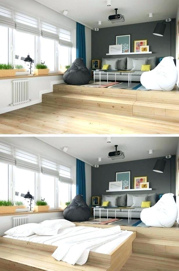 Hidden Bed Ideas Hidden Bed Ideas Best Hidden Bed Ideas On Spare Room With Sofa B Small Apartment Bedrooms Small Apartment Living Room Small Apartment Interior