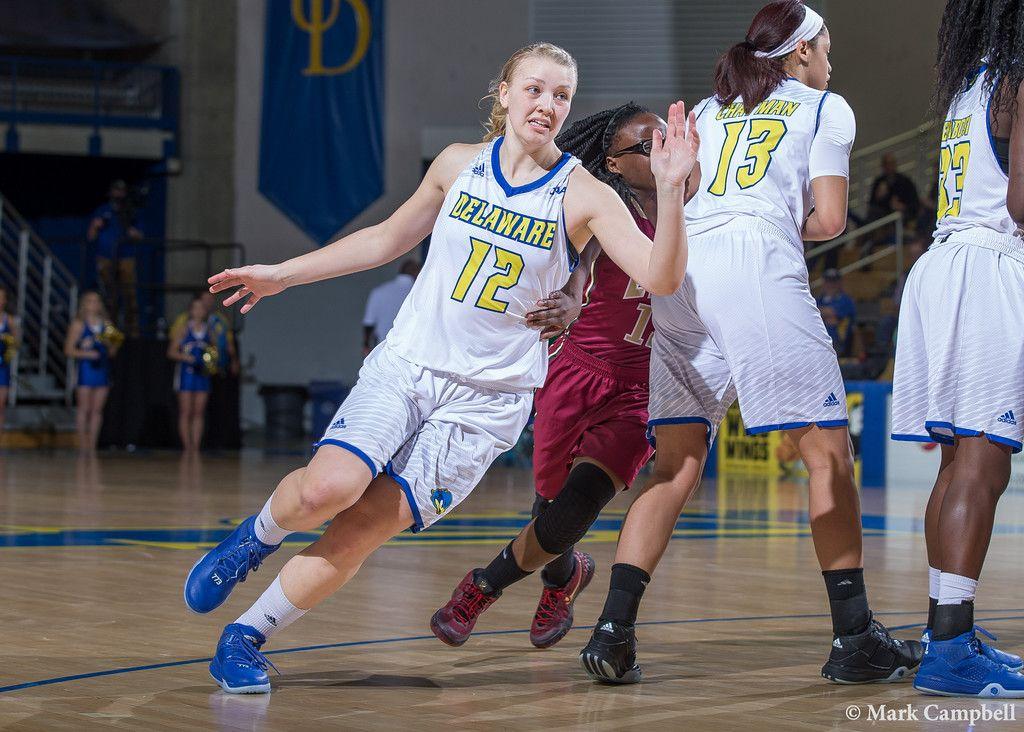 vs Elon 2716 Delaware blue hens, Womens basketball