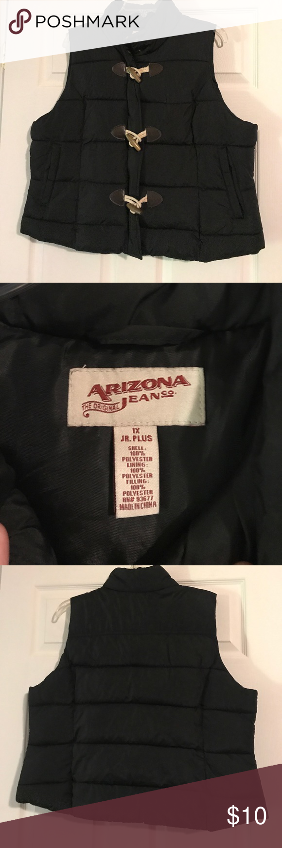 1c42e585ef2 Arizona puffer vest Black Arizona puffer vest. Size Junior 1X. Worn a few  times but in good condition Arizona Jean Company Jackets   Coats Puffers