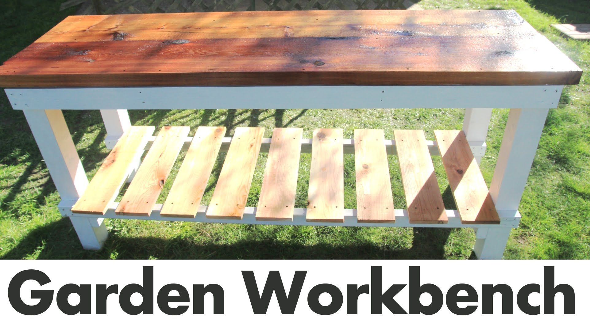 Excellent Garden Workbench Potting Bench Built With Cedar And Ncnpc Chair Design For Home Ncnpcorg