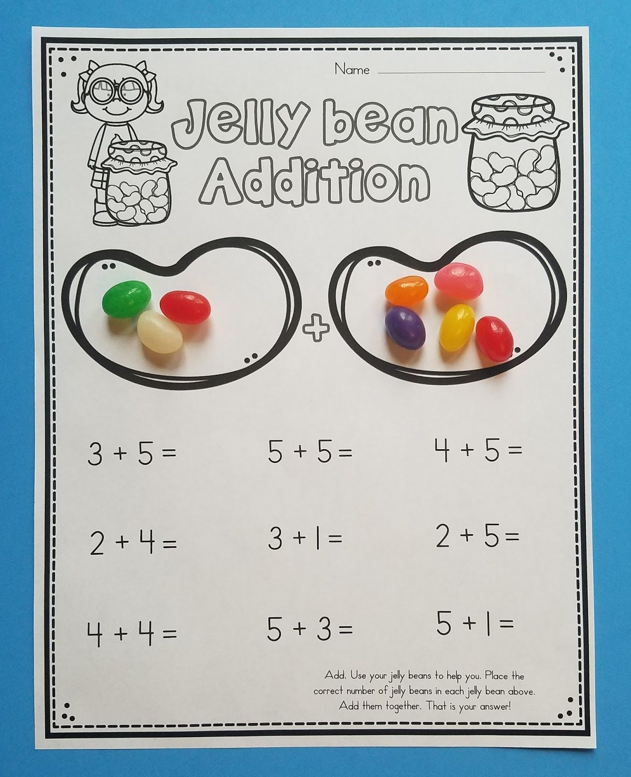10 Jelly Bean Math Activities