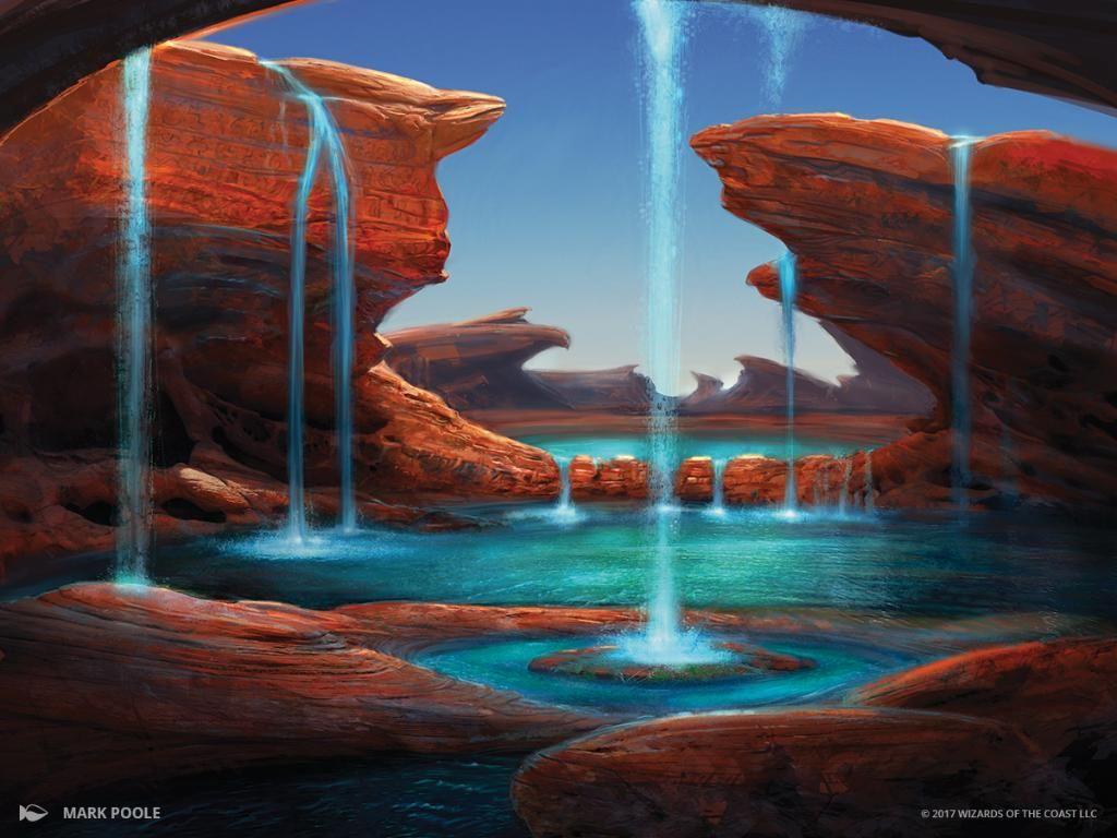 Image result for island mtg art