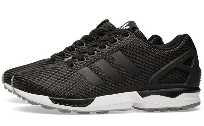 90dc8ae54fe05 ... EU Kicks  Sneaker Magazine. adidas ZX Flux  Ballistic Woven  (Black)
