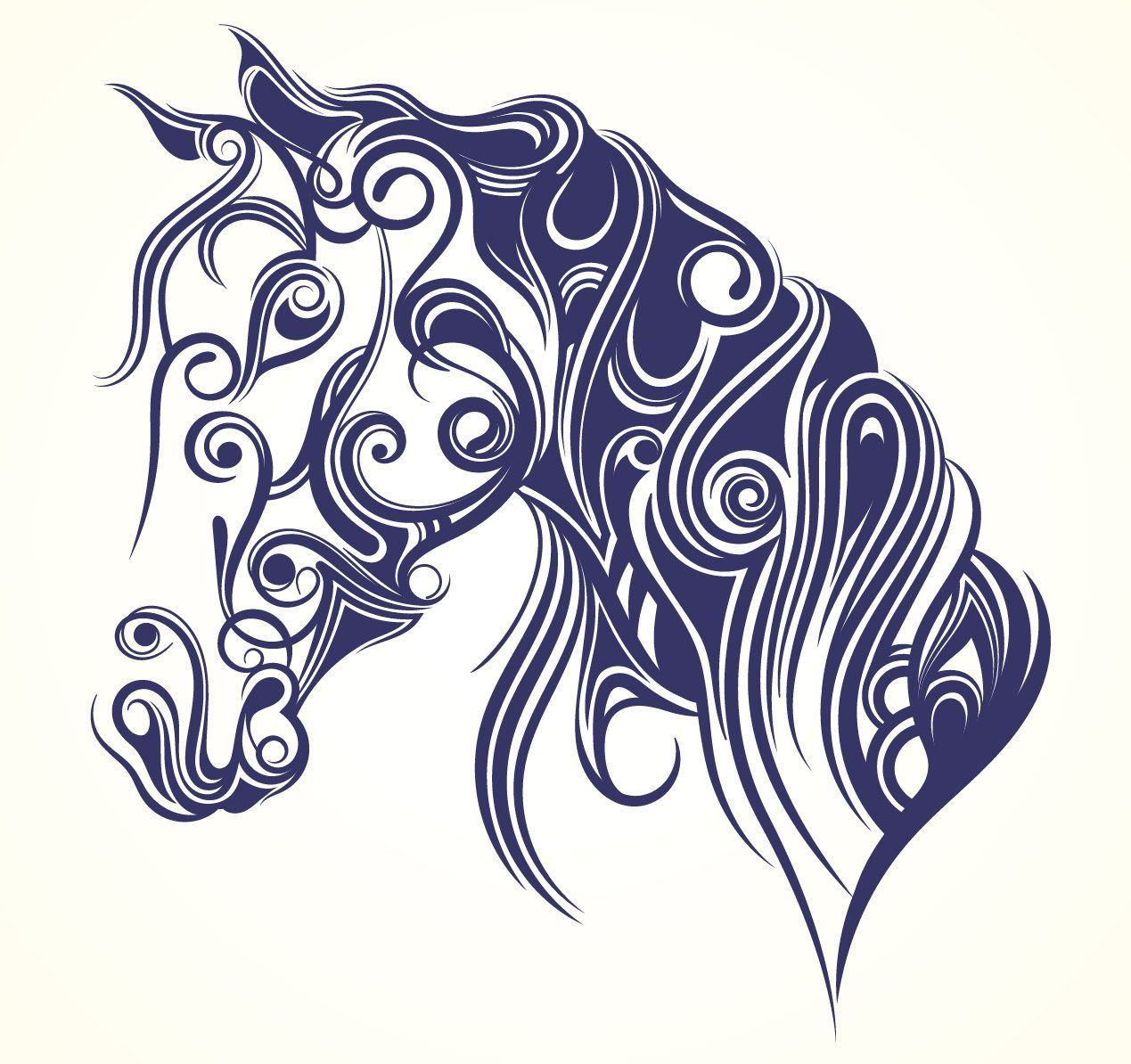 Pin By Nola Crenshaw On Adult Coloring Pages Horses