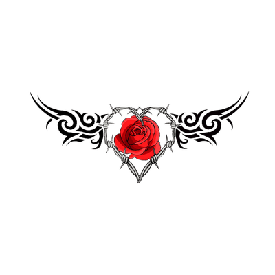 Gothic Tattoo Heart Gothic Tattoo Photoshop Backgrounds Free Heart Tattoo