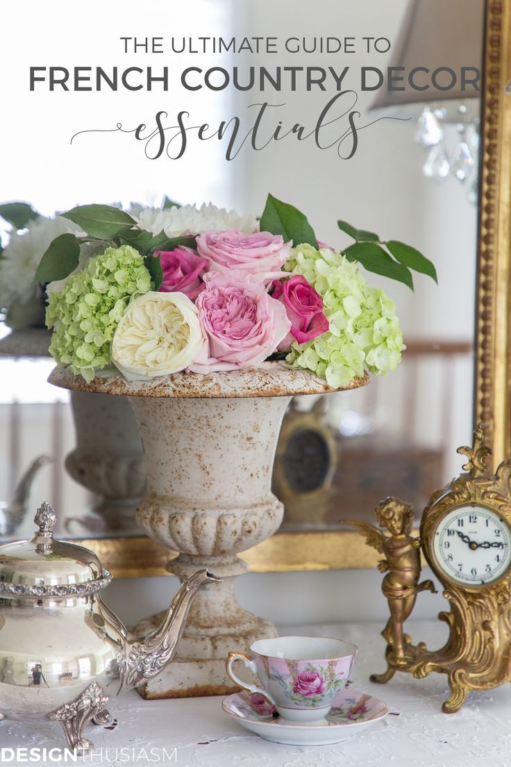Photo of The Ultimate Guide to French Country Decor Essentials