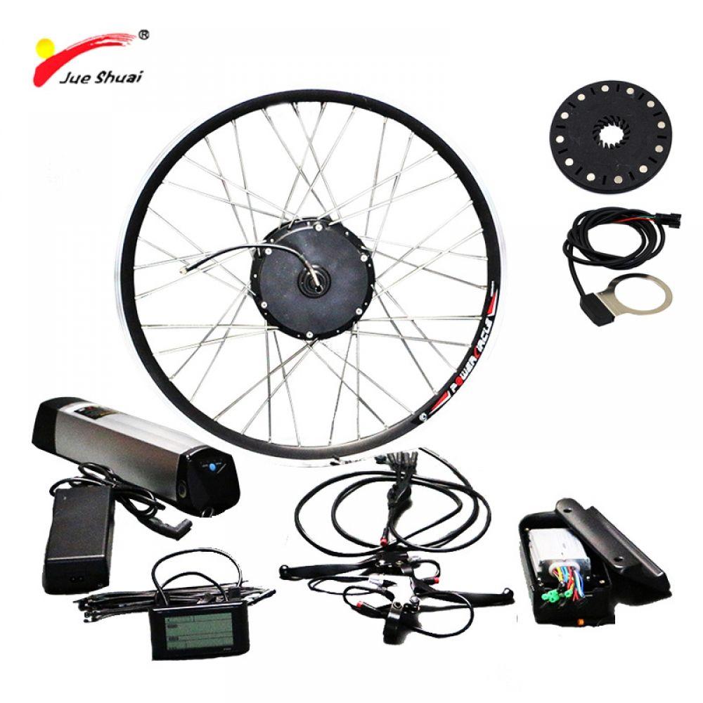 36v 48v 250w 350w 500w Electric Bike Kit For Mountain Bike 20 26