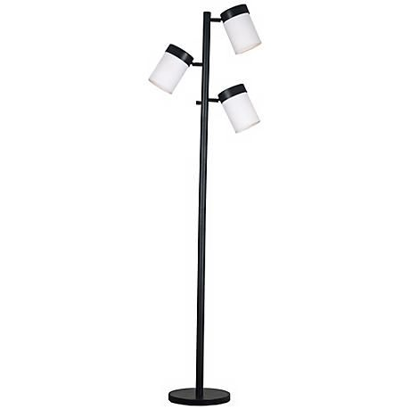 3 Light Floor Lamp Beauteous Kenroy Roarke Oilrubbed Bronze 3Light Floor Lamp  Style # R8196 Inspiration Design