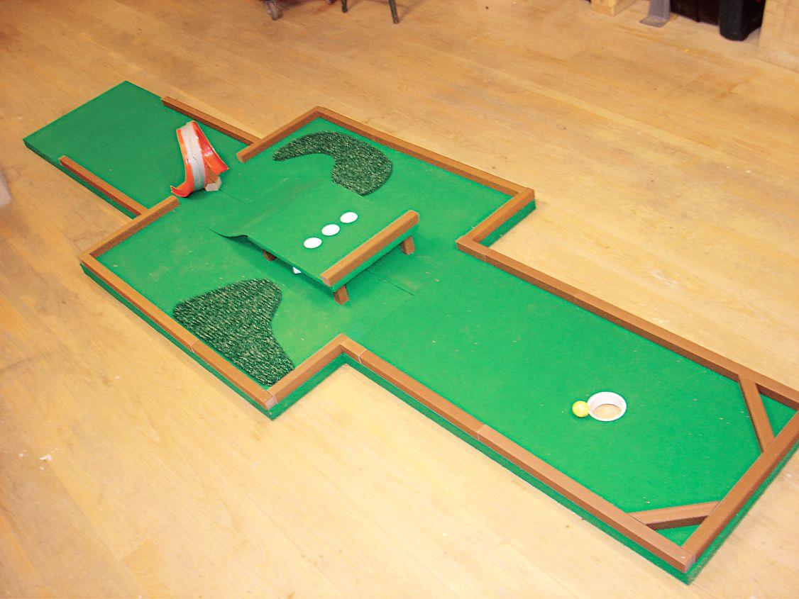 How to build a miniature golf course miniature golf