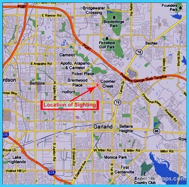 Cool Map Of Garland Texas Garland Texas Map Garland