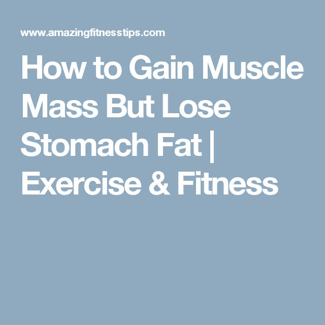 lose fat gain muscle without weights