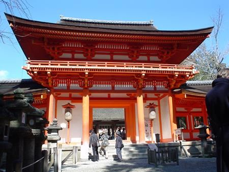 El gran santuario de Kasuga en Japón