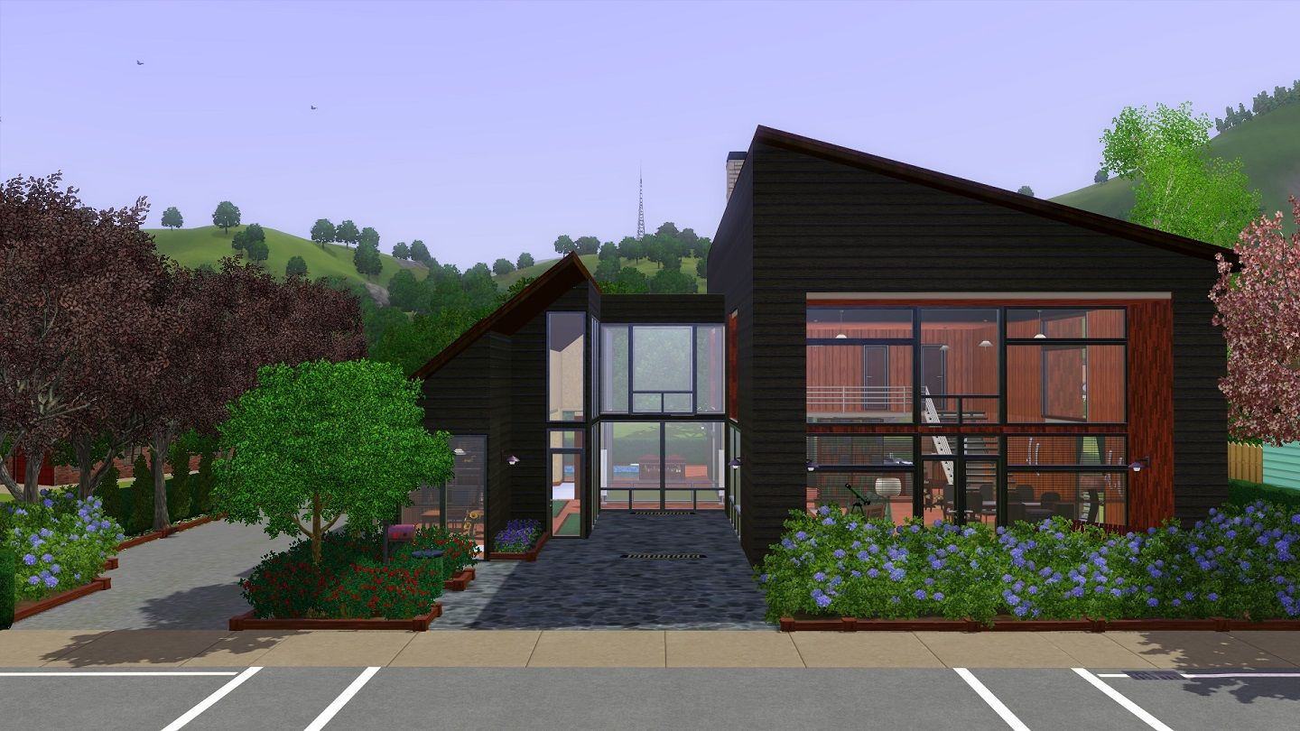 Mod the sims wooden scandinavian