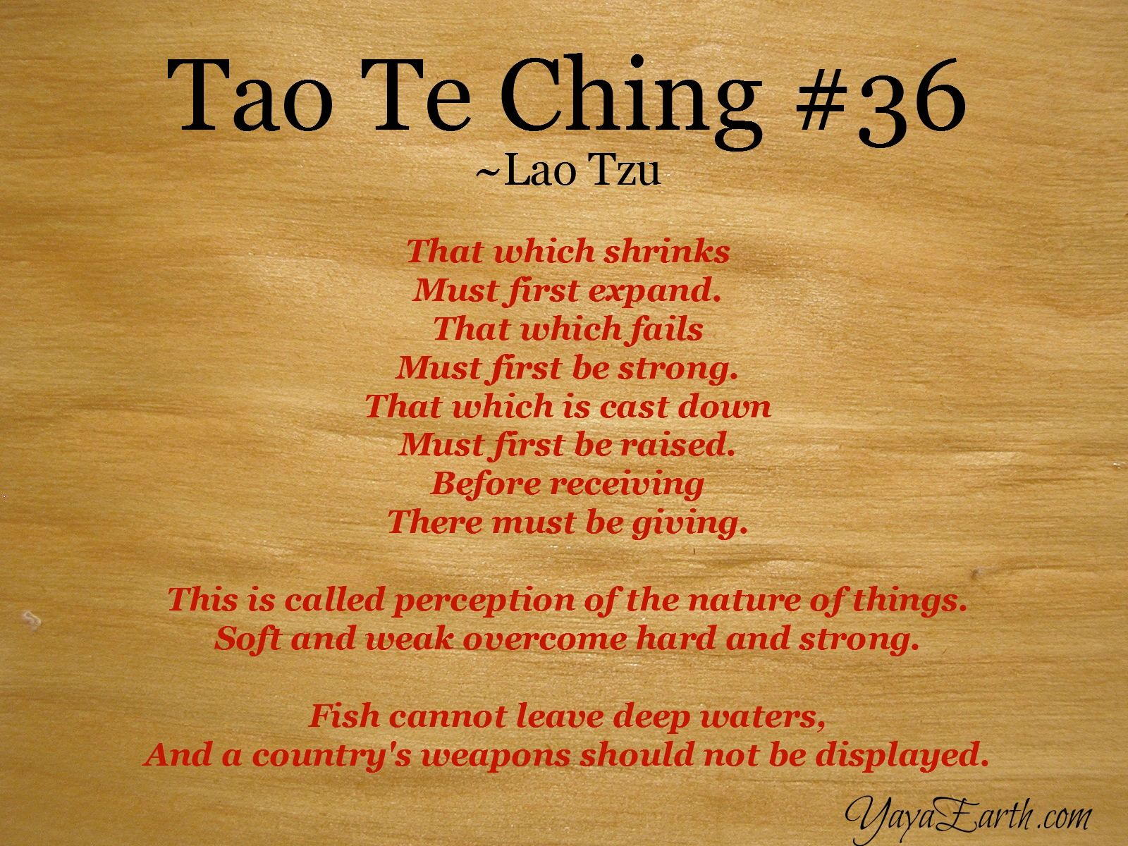 "tao te ching thoughts Daodejing, (chinese: ""classic of the way of power"")wade-giles romanization  tao-te ching, classic of chinese philosophical literature the name was first  used."