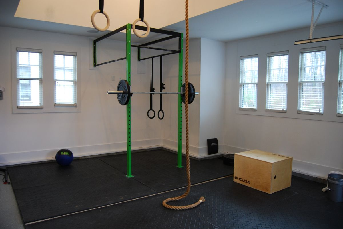 compact garage gym ideas - Crossfit Garage Gym Do you have a need for garage storage