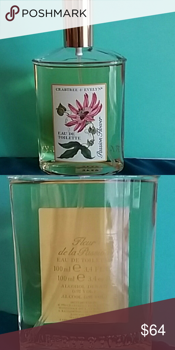 Rare Passion Flower By Crabtree Evelyn Discontinued Htf Passion Flower Is A Feminine Perfume Feminine Perfume Crabtree Evelyn Fragrance Notes