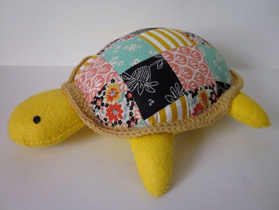 Patchwork Turtle Patchwork Fabric Scraps Scrap