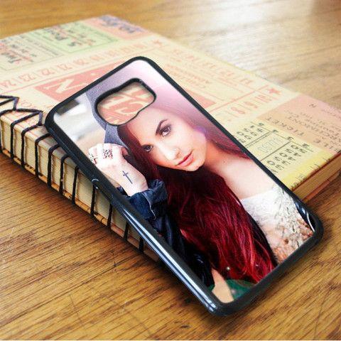 Demi Lovato Singer Idol Star Samsung Galaxy S7 Case