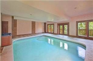 Indoor Pool Beauty Is A Cosby Cabin Vacation Rental In Gatlinburg TN. This  Cosby Rental