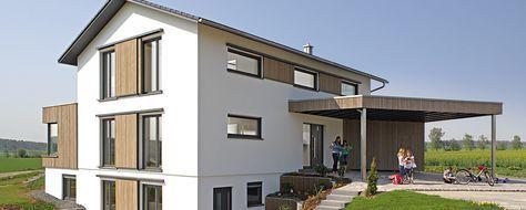 Haus Brettheim haus brettheim fertighaus keitel architektur
