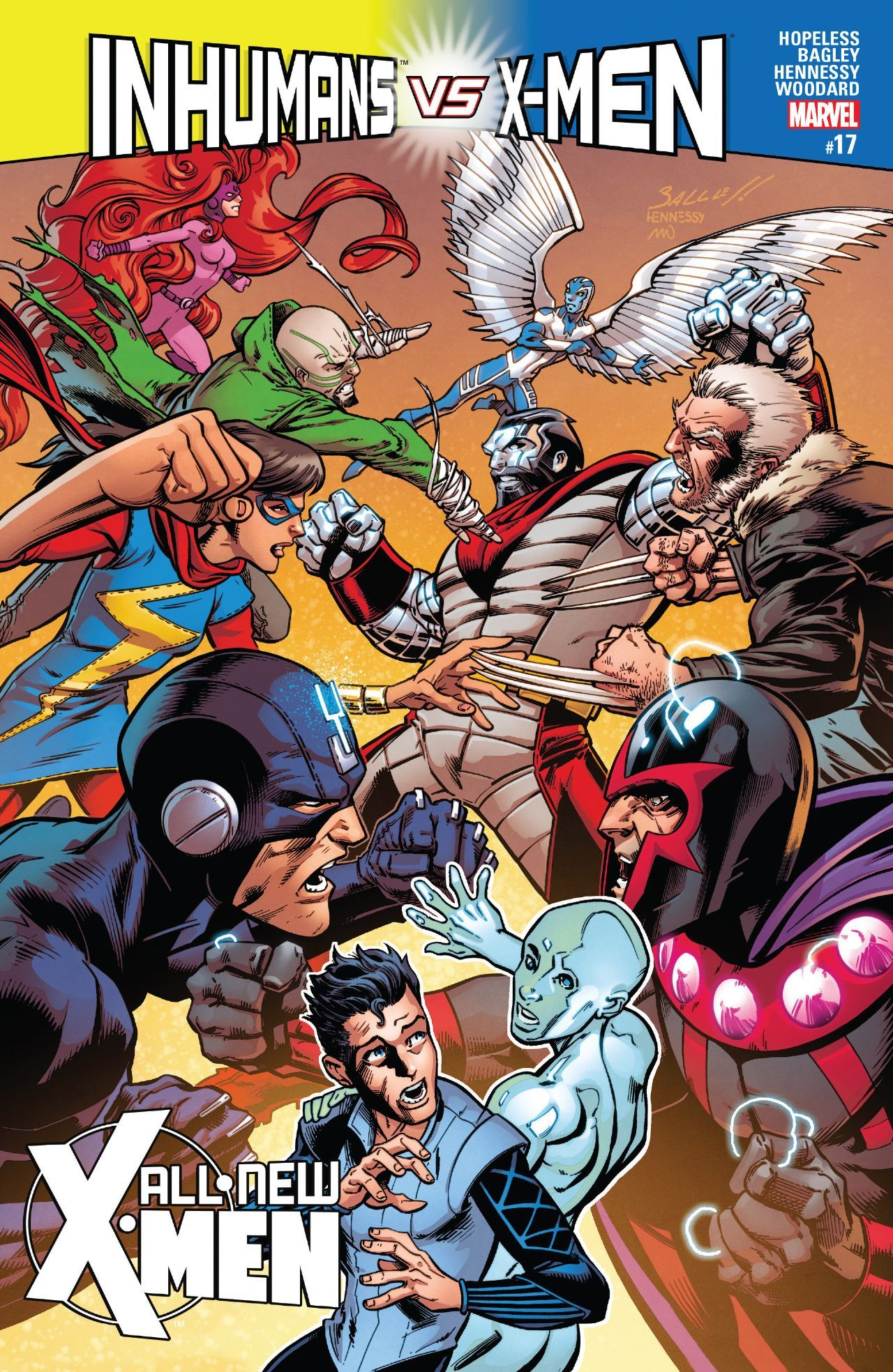 All New X Men 2015 2017 17 Comics By Comixology Comics X Men Man Thing Marvel