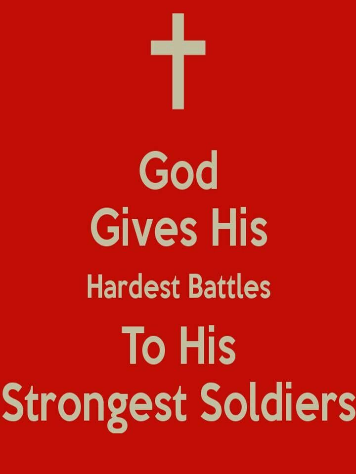 Soldier in God's Army | You are a soldier in the army for God