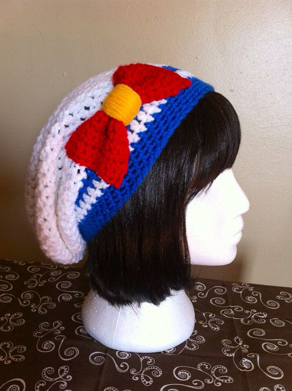 Sailor Moon Scout Inspired Slouchy Hat  d53d1cfba2f