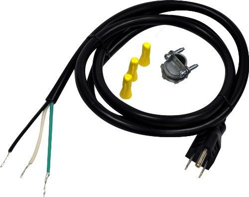 Whirlpool 3370315RP Dishwasher Power Cord Kit by Whirlpool. $9.99. From the Manufacturer                This 3-prong dishwasher power supply kit fits most major brands and includes everything you need for easy installation. The kit contains (1) 6-Feet dishwasher power cord, (1) metal strain relief, (3) wire nuts, and installation instructions.                                    Product Description                Whirlpool Part Number 3370315RP: CORD-POWER